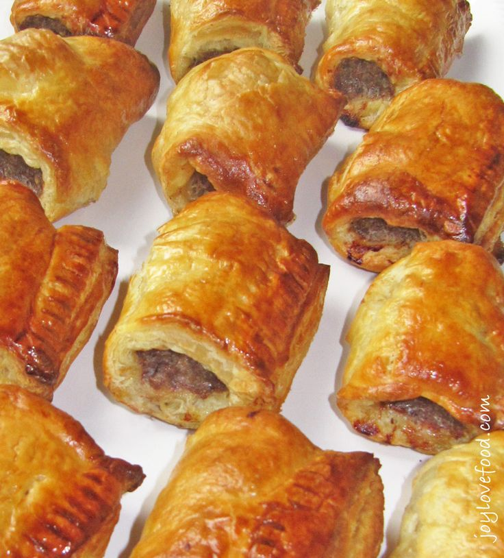 Dutch Sausage Rolls