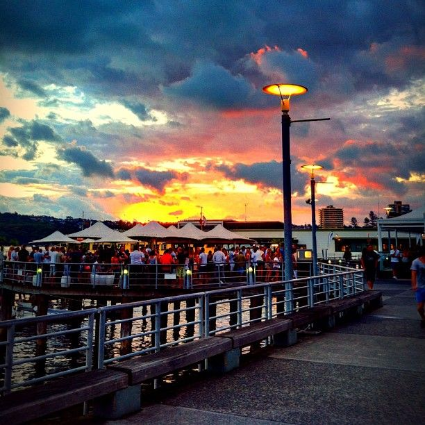 Manly itinerary: Manly Wharf Bar