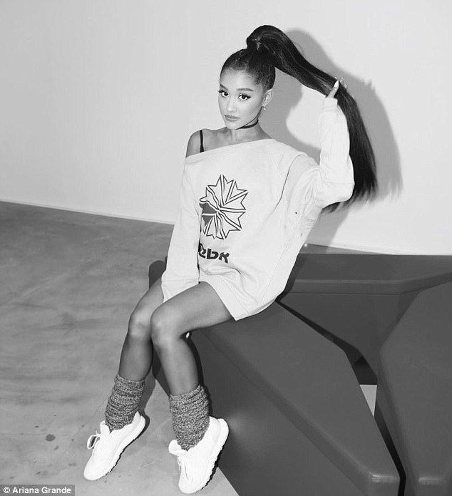 For sale: Ariana Grande has gotten to work as the latest celeb backer of a sportswear brand
