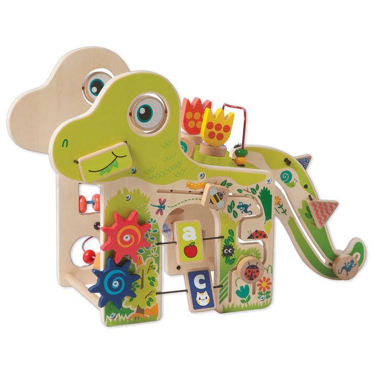 Manhattan Toy® Playful Wooden Dino Toy