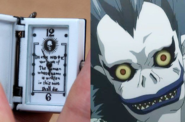 "This Death Note necklace that'll tell you how much time you have left: | 18 Killer ""Death Note"" Items That Are To Die For"