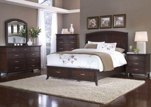 Top 10 Bedroom Color Ideas With Dark Brown Furniture