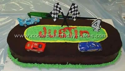 Option 2. Paden wants a number candle, so I might do this instead of the track being the number.