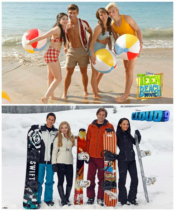 Teen Beach & Cloud 9 Movie