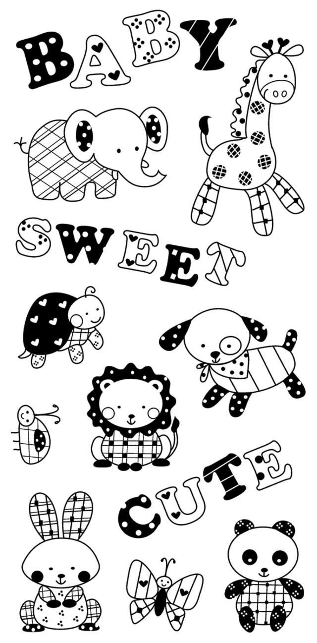 printable cute animal Stencils Pinterest A website