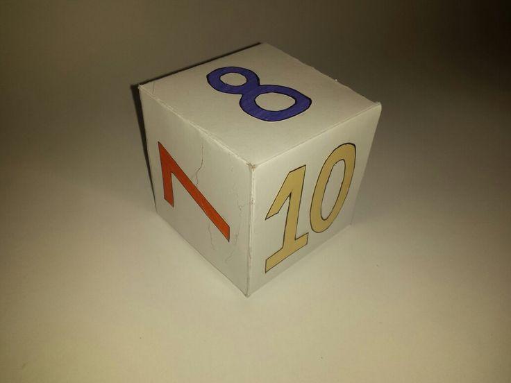 Cub numere