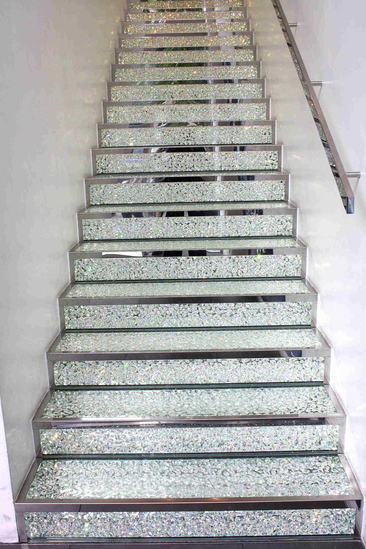 paris swarovski 39 s stairs champs elysees swarovski. Black Bedroom Furniture Sets. Home Design Ideas