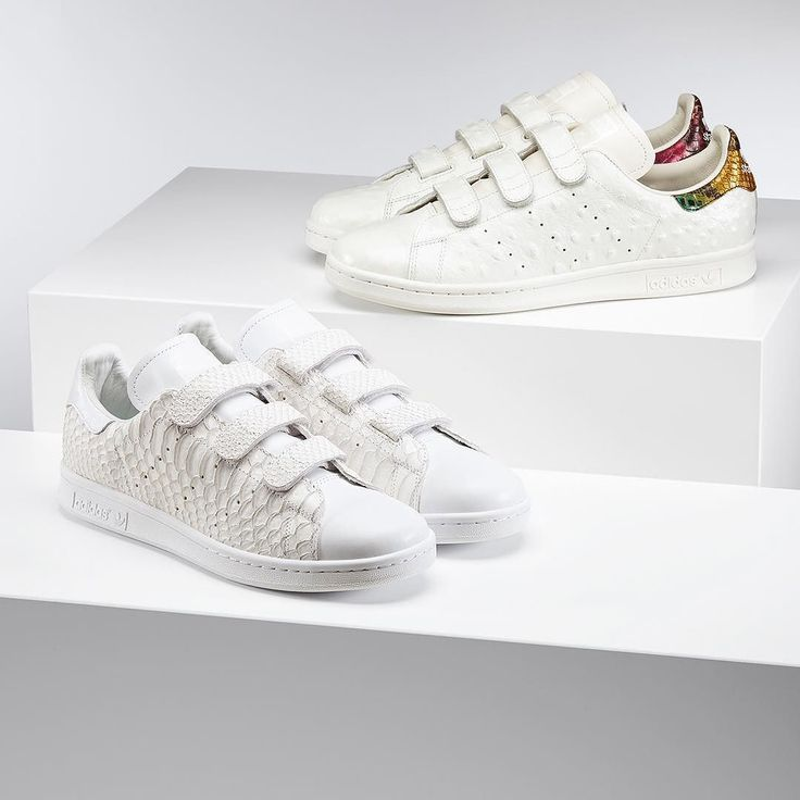 Ostrich or  snake-skin inpired Stan Smith's? Pick your own in our updated #miadidas gallery by adidasoriginals