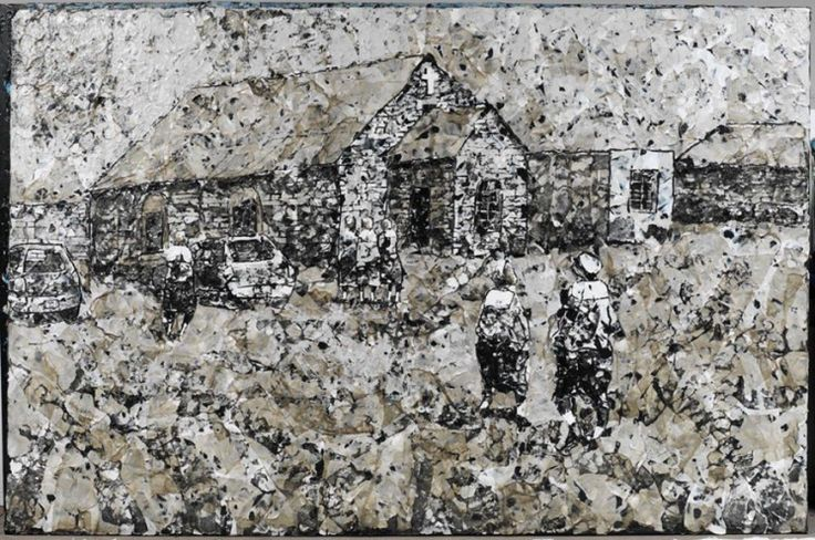 """""""My Mother's Church"""" by Mbongeni Buthelezi."""