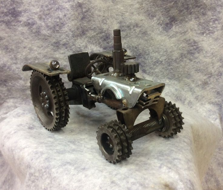 Tractor Gears Turning : Best metal art images on pinterest