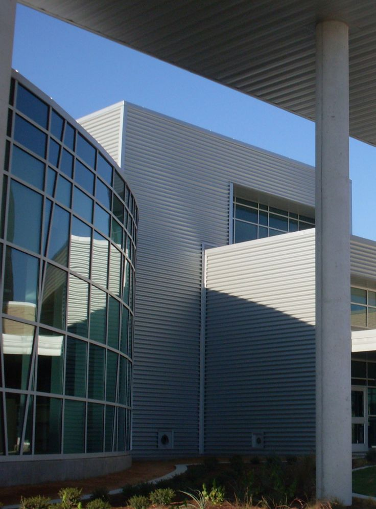 Lady Bird Johnson Middle School, Metal Roofing And Siding, Fabral.com