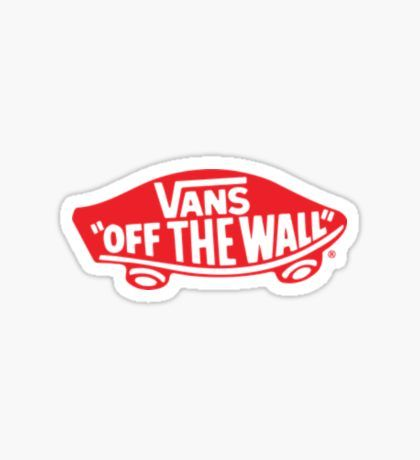 Stickers in 2020 Aesthetic stickers, Vans logo, Stickers
