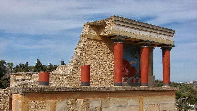 Knossos   Heraklion, Crete