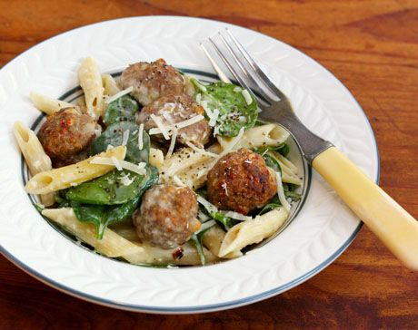 Falafel mix (Recipe: turkey-falafel meatballs with pasta, spinach and tahini dressing)