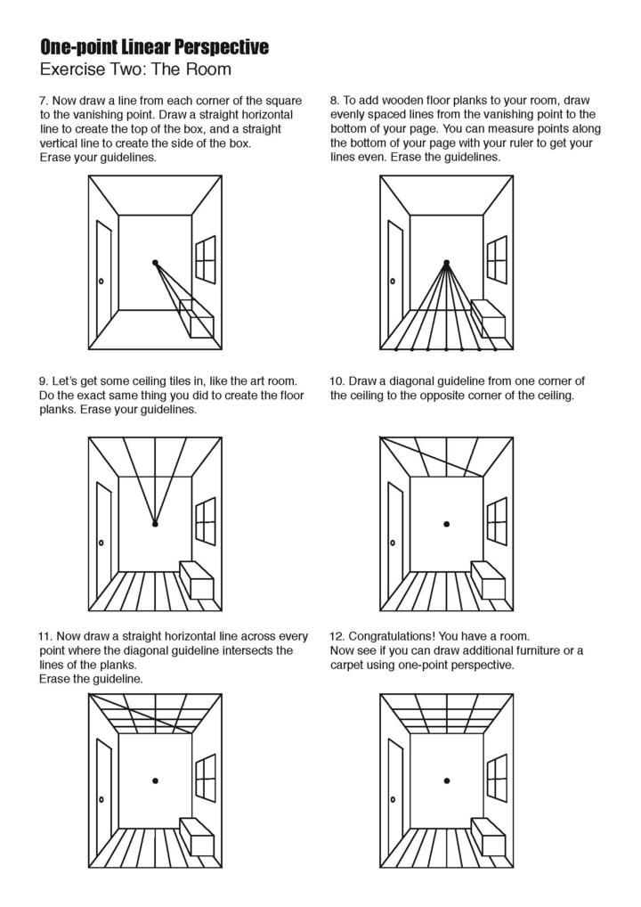 One Perspective Drawing Room: 17 Best Images About PERSPECTIVE On Pinterest