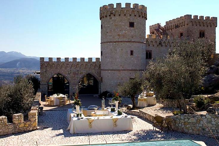 Castelo Rocca dei Cavalieri vivendas para recepções Casaprota Rieti