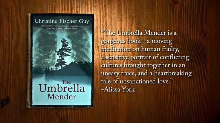 The Umbrella Mender by Christine Fischer Guy book trailer