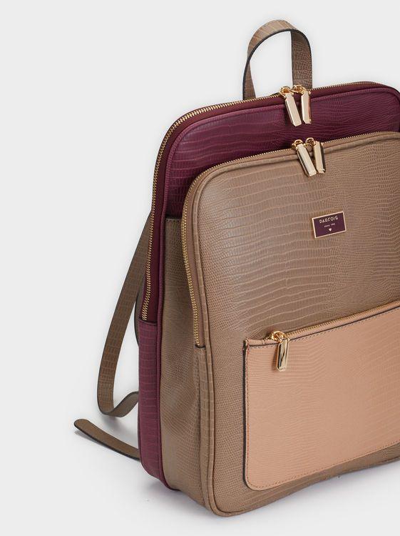 8e953a7ef6014 Cherry Backpack, Brown | Los quiero en 2019 | Backpacks, Backpack ...