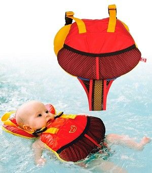 Salus Marine Wear Bijoux Baby Flotation Life Vest (9-25 lbs) such I good idea if we ever get to go boating out here.