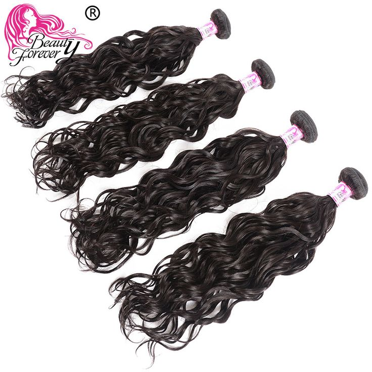 BEAUTY FOREVER Brazilian Natural Wave Hair Weft 4 …