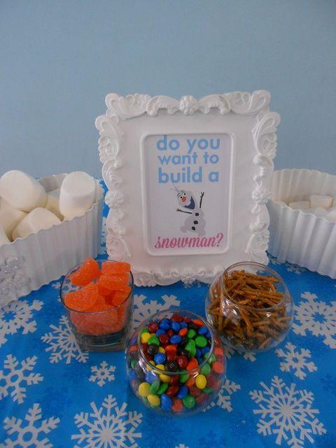 Disney Frozen--Winter wonderland Birthday Party Ideas | Photo 2 of 12 | Catch My Party