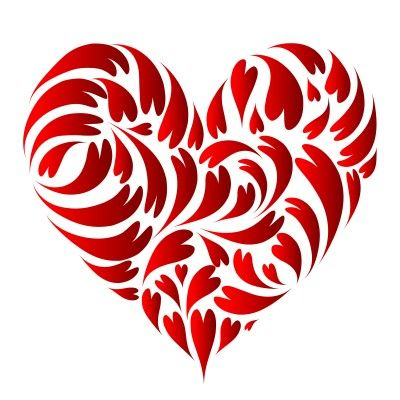 Cool design for a heart ♥