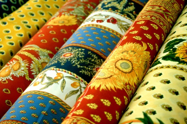 PROVENCE FABRICS - Market, France #travel #France #fabric