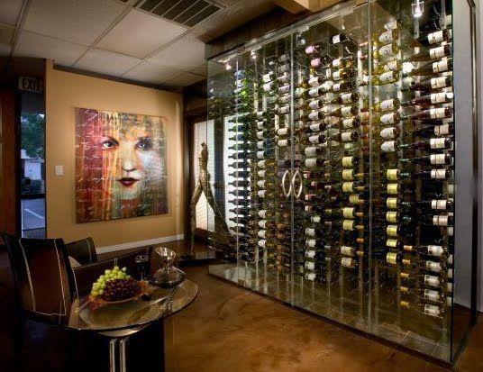 Best 20+ Glass wine cellar ideas on Pinterest   Wine display ...