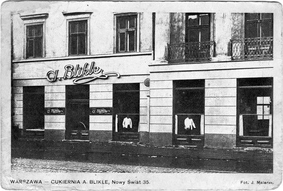 Blikle Cake Shop, 30' Still there