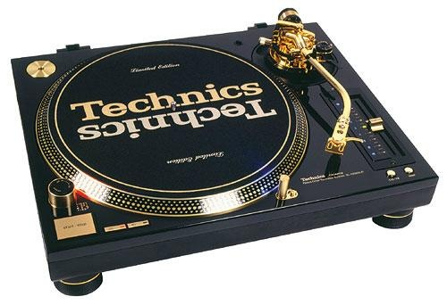 Technics 1200 MK5 Gold Edition - This is sex to a DJ. Not ok sex. Great sex.