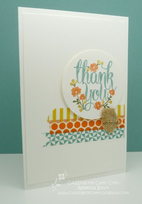 Simple thank you card | Pretty greetings card
