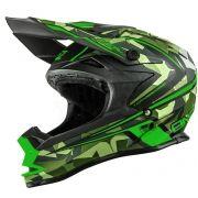 2017 ONeal 7 Series Evo Motocross Helmet - Camo Green