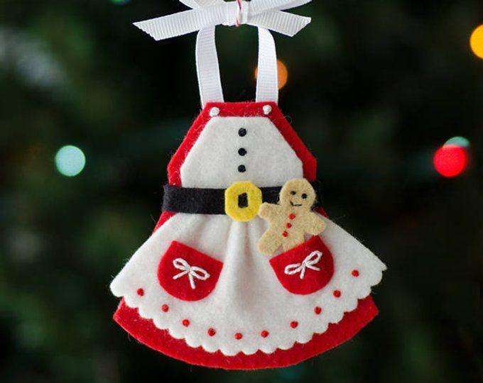 Hot Chocolate Ornament Pdf Pattern Felt Christmas Ornaments