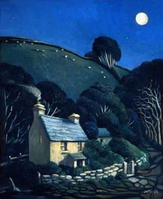 Limited Edition Prints Artist Jo March-Under the Moon
