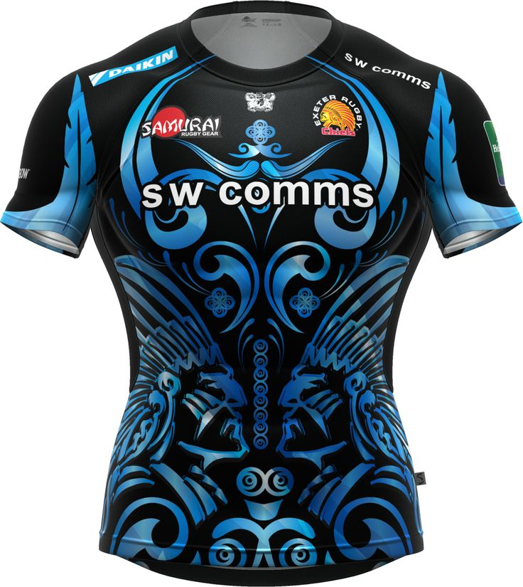 The Exeter Chiefs Iconix Erc Lv Cup Home Shirt Voted