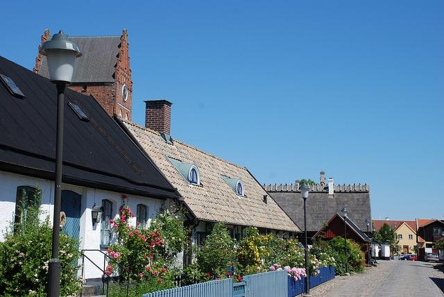 Åhus, Sweden; my other home.