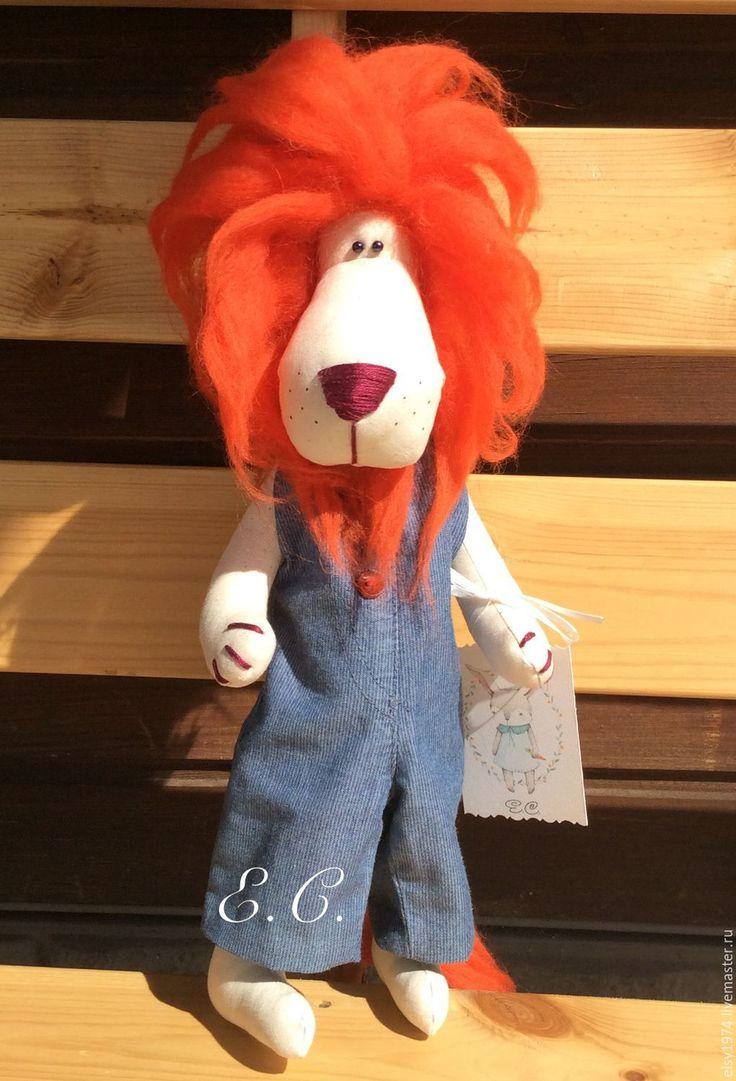 Купить Лев Алекс - лев, царь зверей, львенок, животные, грива, рыжий, красный, огненный