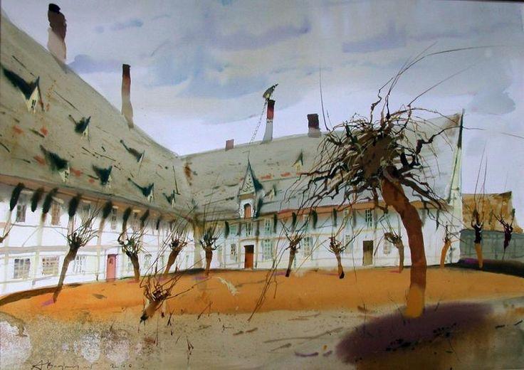 Watercolors by Alex Votsmush Russian
