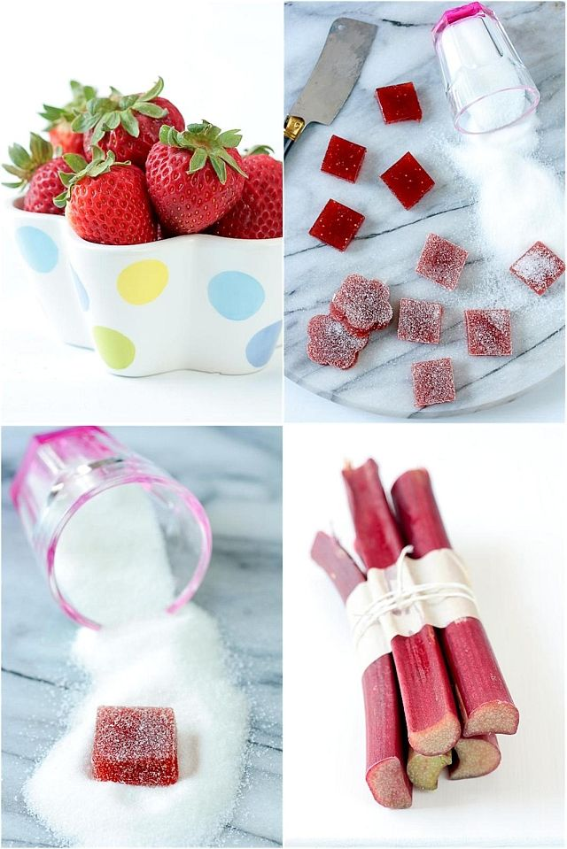 and Rhubarb Pate De Fruit. | Recipes | Pinterest | Strawberries, Fruit ...