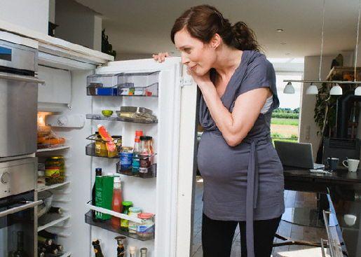 Питание в первом триместре беременности