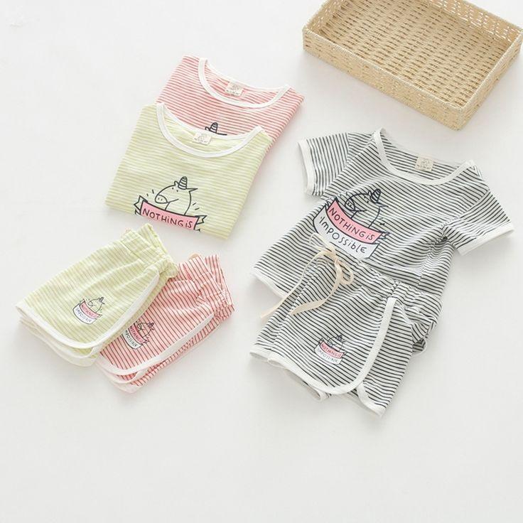 2017 летнее платье девушки нашивки дна рубашки детей короткие-рукавами T-рубашка+шорты из двух частей костюм младенца с короткими рукавами-Таобао глобальной вокзала