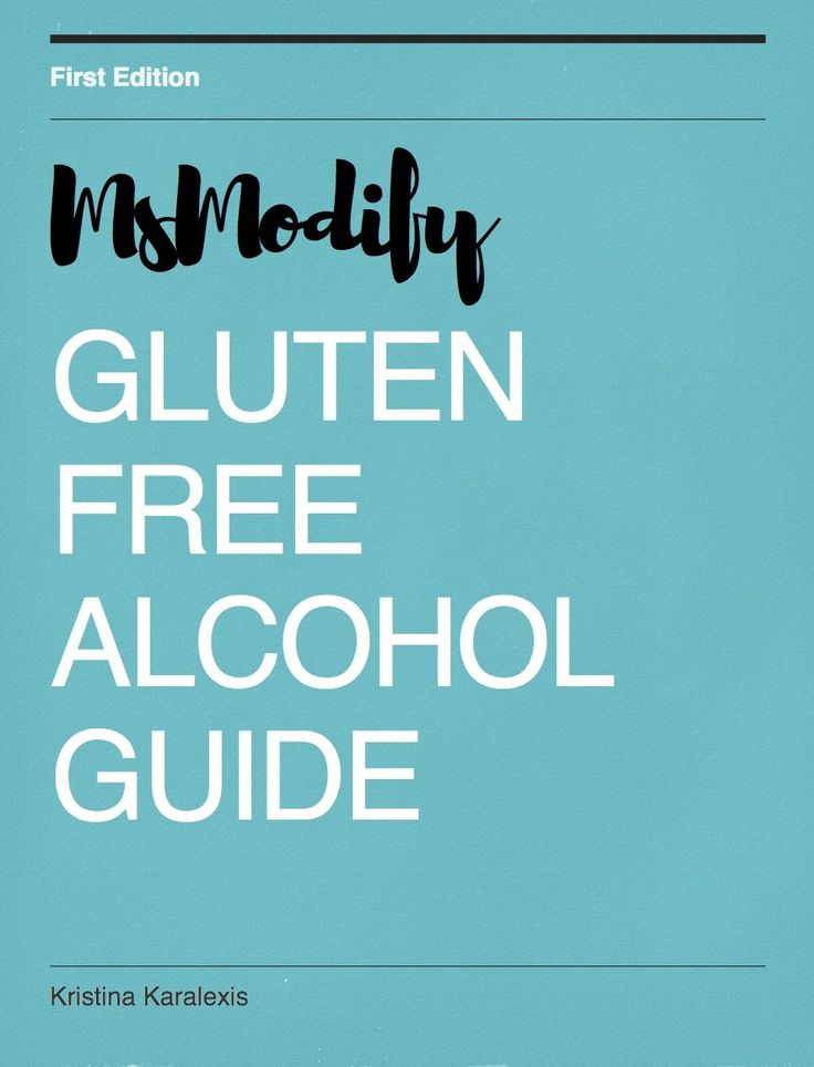 Gluten Free Alcohol Guide
