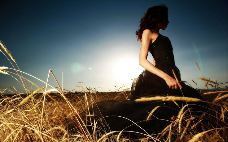 Pin By Ilikewallpaper Ios Wallpaper On Ipad Wallpapers: Lonely Girl Wallpaper