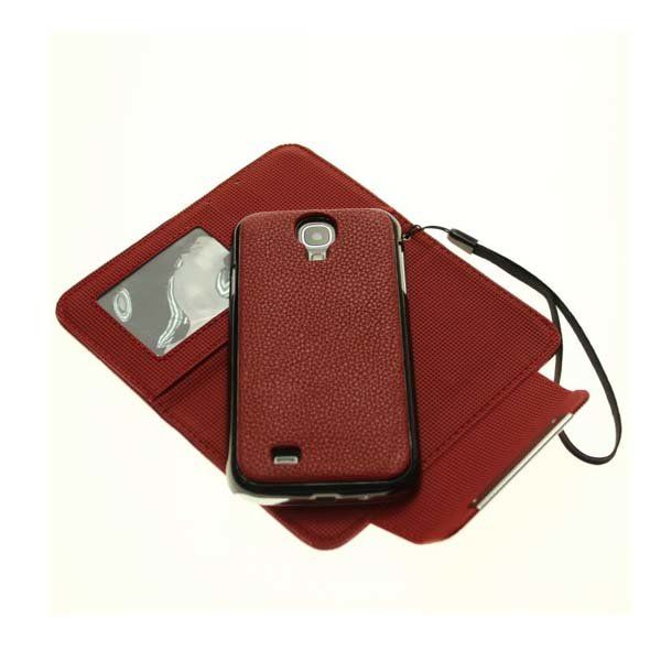 Wallet Case For Samsung Galaxy S4 I9500 With Magnet + Hand Strip…