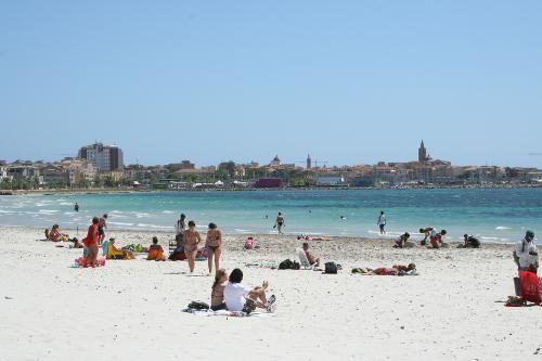 ITALIA SARDEGNA  Alghero spiaggia