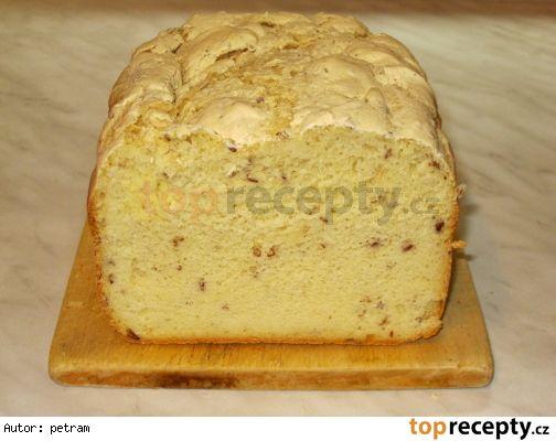 Jáhlový chléb bez lepku, mléka a vajec