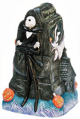 gel nimbus  amazon Goth Shopaholic Nightmare Before Christmas Cookie Jars