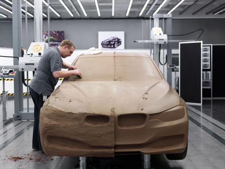 BMW 3 Series Clay Model ขั้นตอนที่ยากที่สุด คือทำ2ข้างให้เท่ากัน T^T