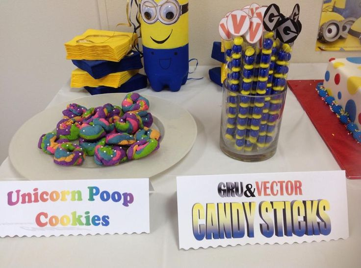 Despicable Me Birthday Treats