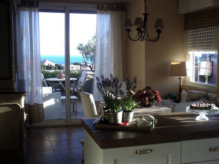 E ora anche dalla cucina mi godo la vista spettacolare!